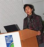 Madam Jiang Manxia, secretary general of CNHPIA