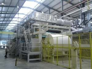The new line will enable the Nigerian producer to consolidate its leading position in the West African tissue market