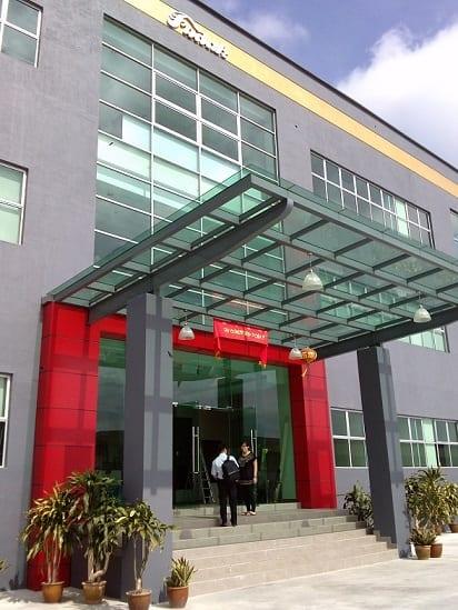 Fudak's new facilities in Johor Bahru, Malaysia