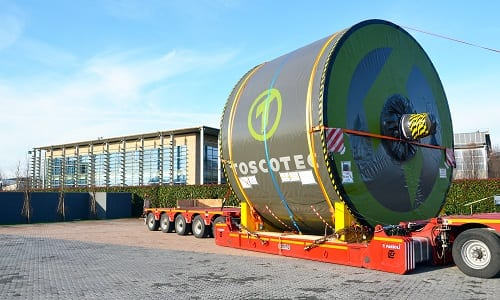 The Toscotec-supplied TT SYD has a diameter of 12ft and a face length of 5,750mm