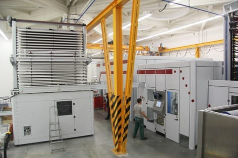 The new Futura converting line opens up new market opportunities for Forest Papir