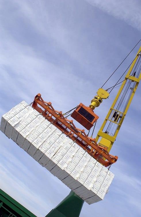 Massabalar; lastning; båt; logistik; Timbus