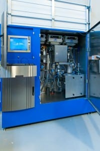 On line pulp testing module
