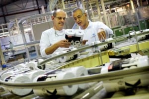 """""""We make sure our tissue and all additives used are biodegradable"""" - production of the company's Satino product range"""