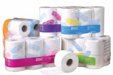 Gomà Camps' ConforDeco toilet tissue range continues to grow thanks to the new system used to join the two plies of decorated ConforDeco tissue