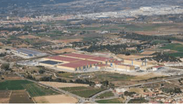 SCA started negotiations with worker representatives and announced that its focus in Spain would now be at its sites in Allo, Navarre, and Valls, Tarragona (pictured)
