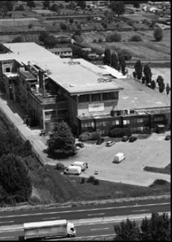 The company's paper mill in Porcari, Lucca