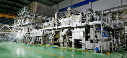 2014 年 6 月,太阳纸业进军卫生纸生产,兖州工厂 PM27 投产。