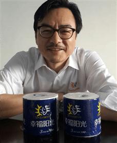 太阳纸业总经理 刘兴功先生