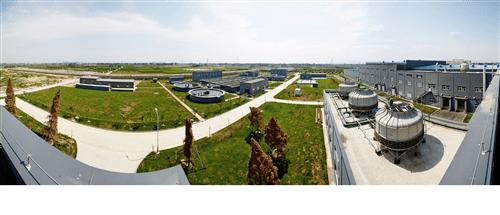 该司以环境保护为主要目标所设立的废水处理系统。