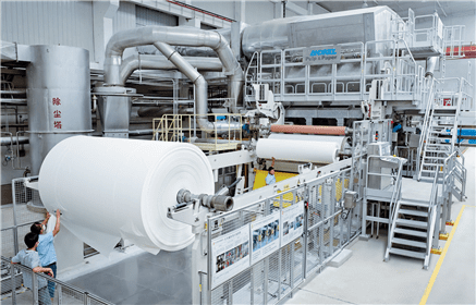 Tissue production started on the Andritz-supplied PM1 in May 2014
