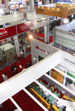 Key players from the market exhibited at the three-day event