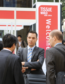 The exhibition and conference continues to attract tissue makers and converters from across the region including Japan, Korea and Southeast Asia