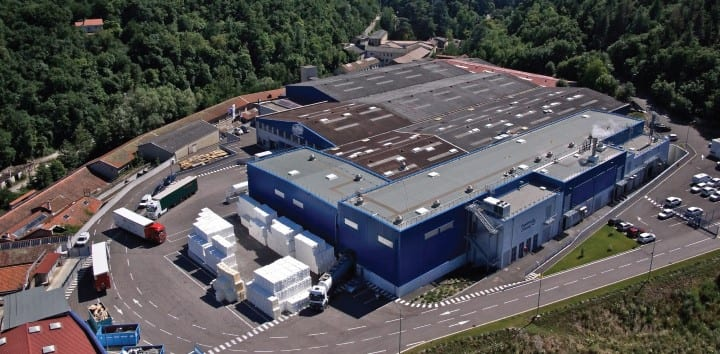 Key location: MP Hygiene's Annonay plant in the Rhône-Alpes region close to the Italian and Spanish borders
