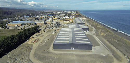 Once production starts in May, 90% of the site's 60,000tpy will be exported to America