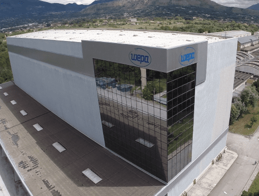 After major upgrades to Wepa Italia's Cassino factory's infrastructure, further investments will focus on converting and are foreseen in the course of this year