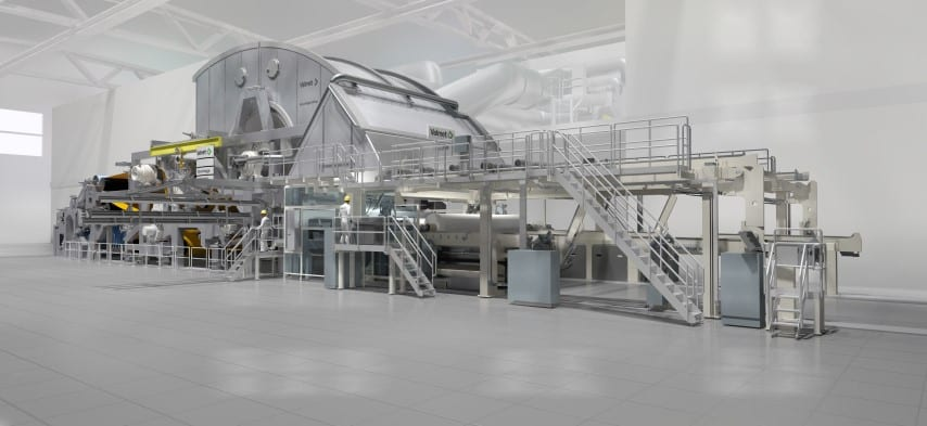 Resolute's Advantage NTT tissue machine will have a width of 5.2m and a design speed of 2,000m/min