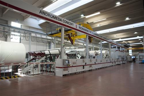New converting technology Andromeda was demonstrated for the first time at FuturaLab