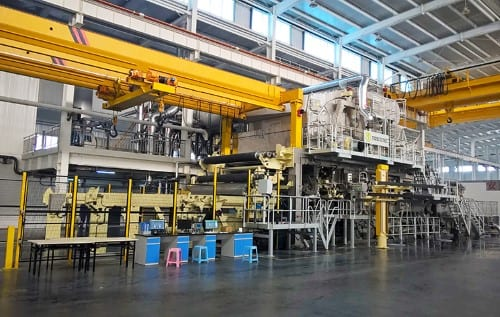The AHEAD-1.5m tissue machines will increase Vinda's production capacity by 60,000tpy