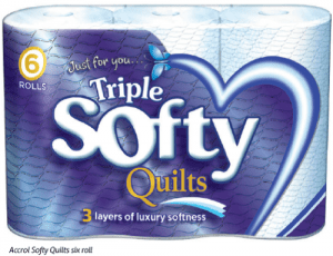Accrol Softy Quilts six roll