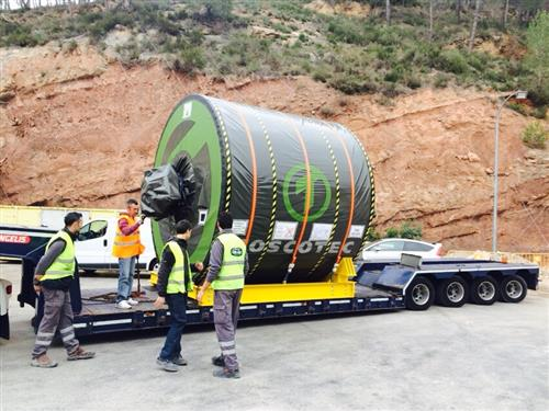 Delivery at the La Torre de Claramunt mill included a Steel Yankee Dryer TT SYD-3,600mm.