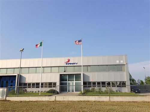 Infinity Italy's Bologna-headquarters will be dedicated to the R&D of packaging machines.