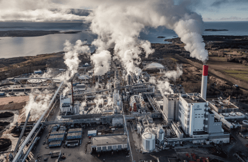 The SEK 4 billion expansion at Värö is nearing completion, bringing an extra 275,000 tpy of softwood pulp