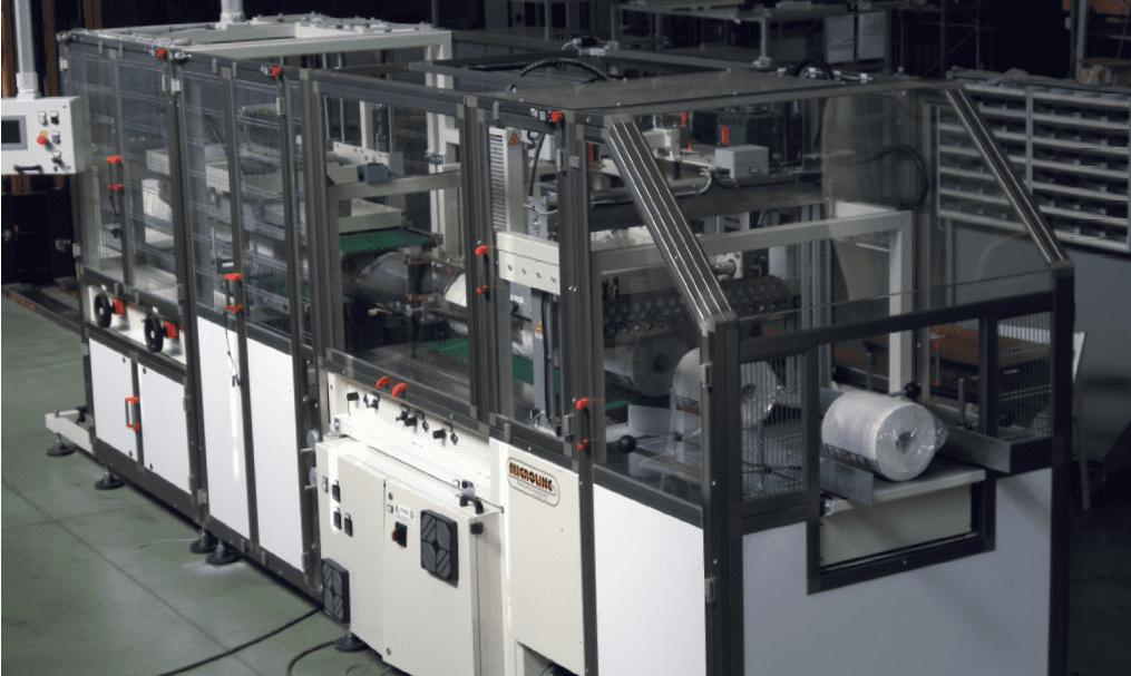 Microline's automatic bundler model FW1000