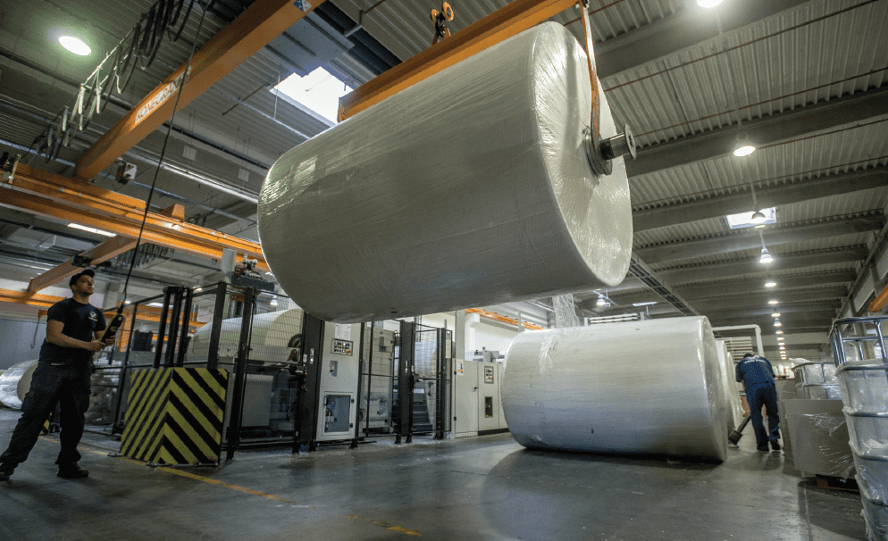 Capacity increase: Vajda-Papir Scandinavia has carried out several activities to develop its business in Scandinavia over the last 12 months
