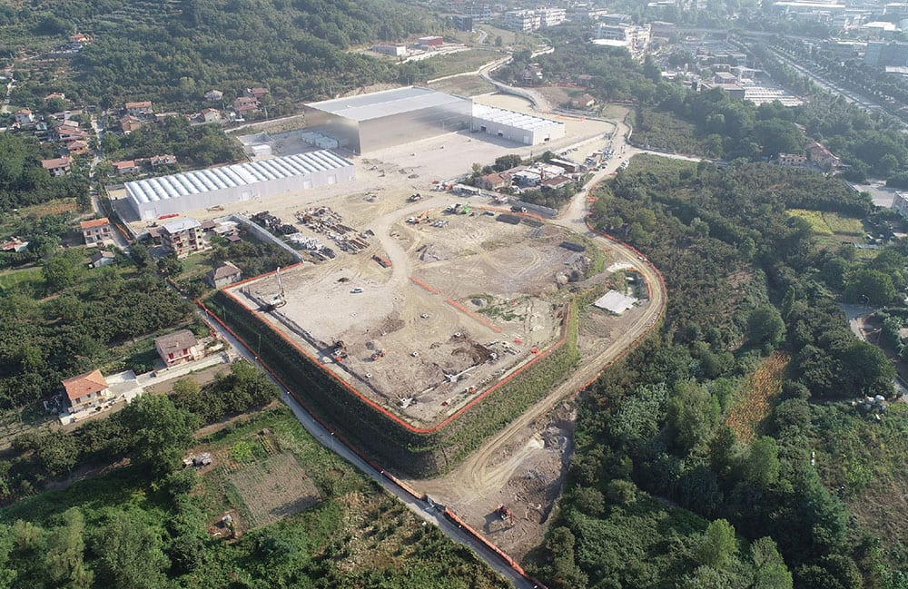 Cartiera Confalone: the mill is said to represent the biggest tissue investment in the south of Italy in the last twenty years.