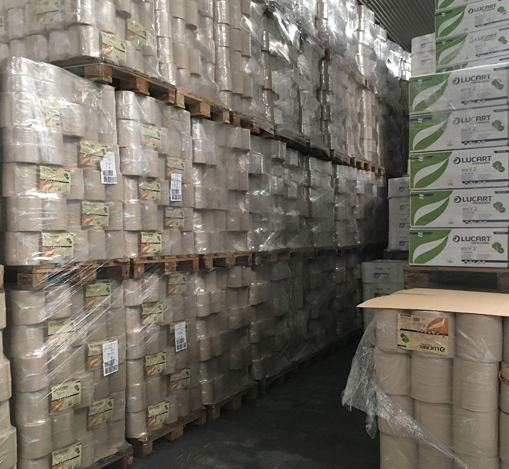 Product variety: final customers such as hospitals, hotels and schools, as well the big distributors of industrial and housekeeping articles are all starting to demand more FSC- and PEFC- certified products.