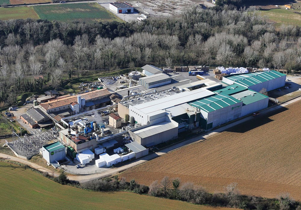 Export potential: L.C. Paper's Besalú, Girona-based site is incorporating new export destinations in South America and the Middle East