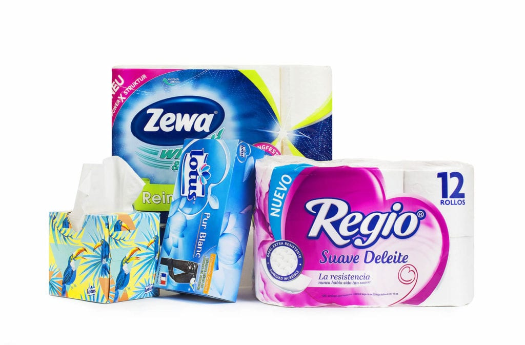 High-quality: Scandinavians on the whole look for quality when it comes to their tissue purchases.