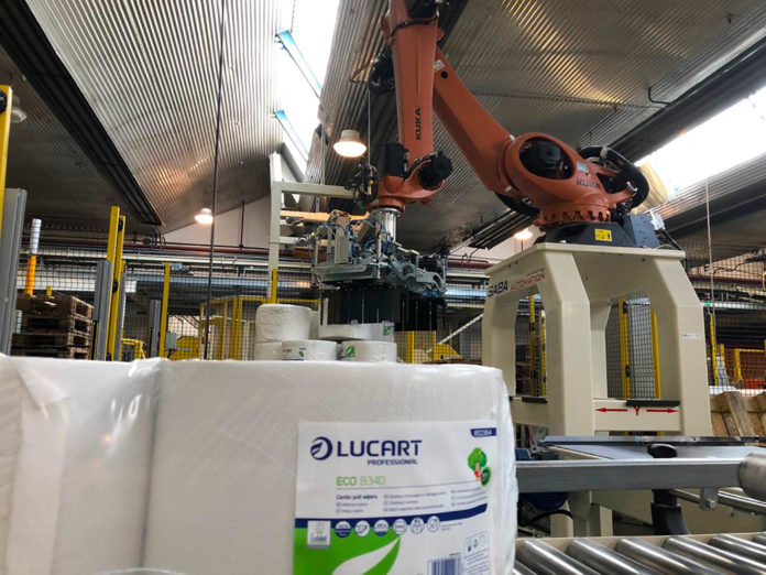 Integrated producer: Lucart offers a complete set of solutions that it says guarantee the highest level of hygiene