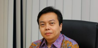 Benny Iswandy, Chief Executive for Asia Pulp & Paper's Indonesian-based global tissue business unit