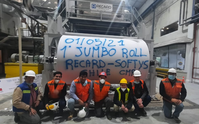 Workers at Softy's, Chile