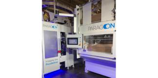 PCMC's patent-pending Paragon rewinder