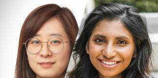 L-R: AFRY Senior Consultant Olivia Ying and Analyst Navodya Denuwara